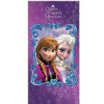 Disney Frozen Queen of the North Mountain Beach Towel